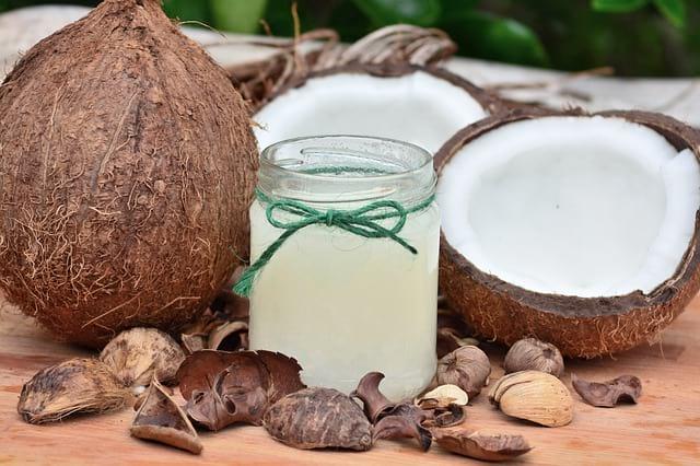 L'huile de coco pour le chien